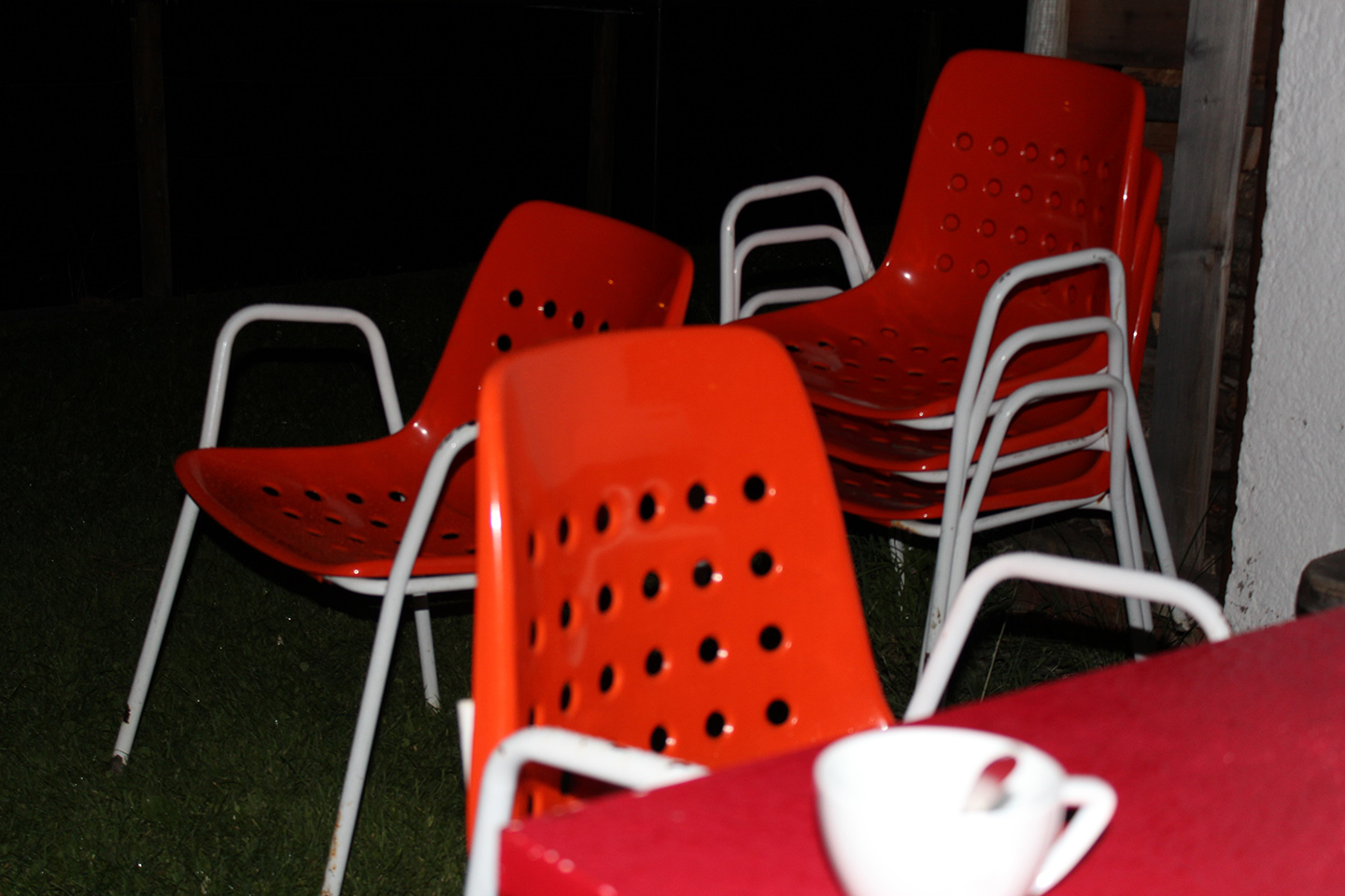 Indian Summer (red chair)